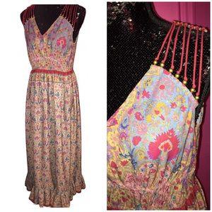 Anthropologie Ranna Gill Maxi Dress NWT Sz M
